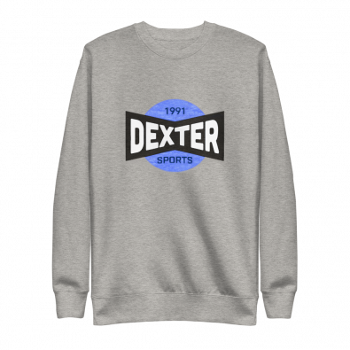 Unisex Dexter Sports Gray Sweatshirt