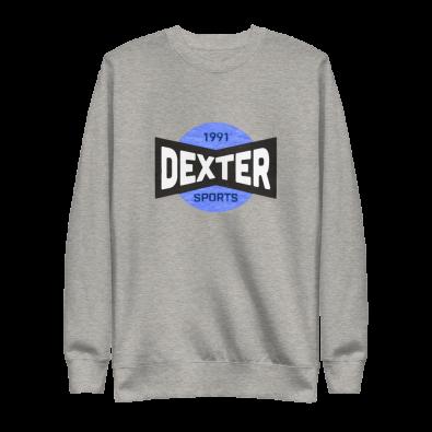 Unisex Dexter Sports Gray Sweatshirt