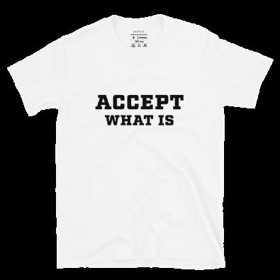 Unisex Accept S/S