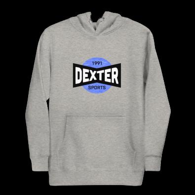 Unisex Dexter Sports Gray Hoodie