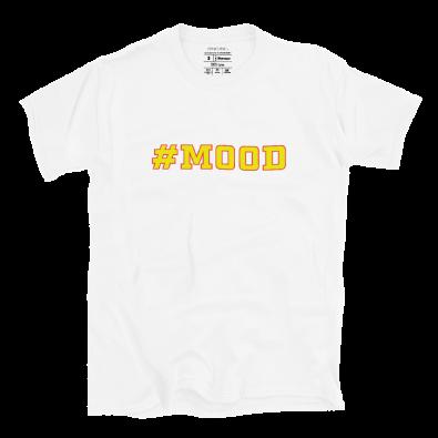 Unisex White #MOOD S/S