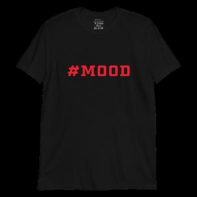 Unisex Black #Mood S/S